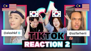 Korean Influencers React to Malaysian Tiktokers!