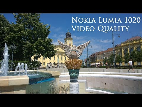 Nokia Lumia 1020 Video Quality - 41MP Camera Test in Hungary, Debrecen City Full HD 1080p