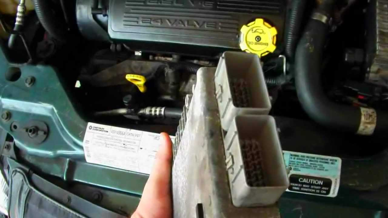 2001 Dodge Caravan Wiring Diagram Yamaha Grizzly 600 Chrysler Sebring Convertible '96-'00, Code 601 Pcm {computer} - Youtube