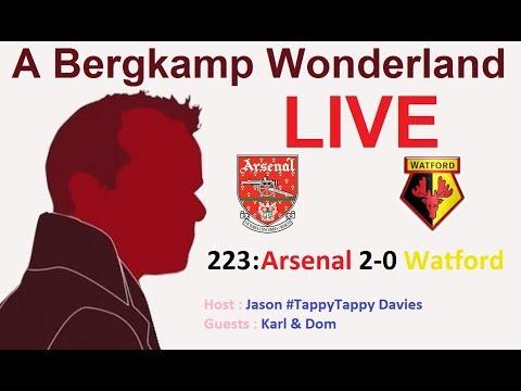 #ABWLive - 223 : Arsenal 2-0 Watford (Premier League)