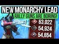 Destiny 2 NEW MONARCHY IS WINNING Faction Rally Weapons Are Boring And Need More Influence mp3