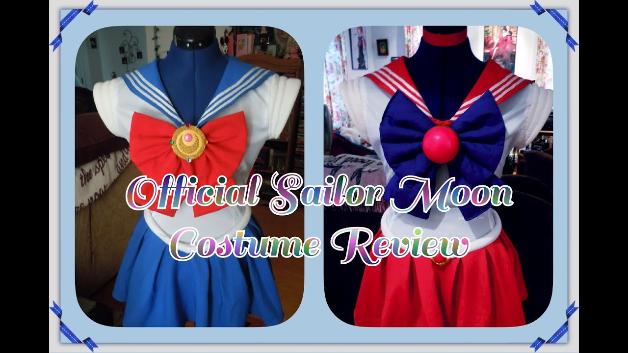 & Official Sailor Moon Costume Review ??????? - YouTube