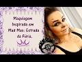 "Maquiagem ""War Girl"" Inspirada em Mad Max: Estrada da Fúria / Mad Max ""War Girl"" Makeup Tutorial"