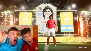 MY BRO packs the most EXPENSIVE ICON on FIFA 21
