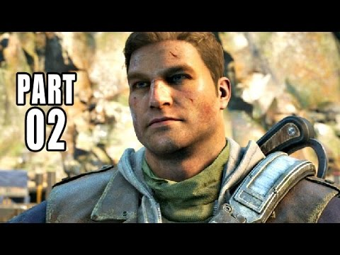 Gears of War 4 Gameplay German #2 - Freundliche Begrüßung - Let's Play Gears of War 4 Deutsch