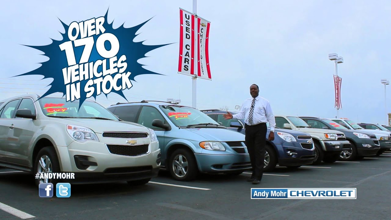 Used Car Sale Certified PreOwned Vehicles Andy Mohr Chevrolet
