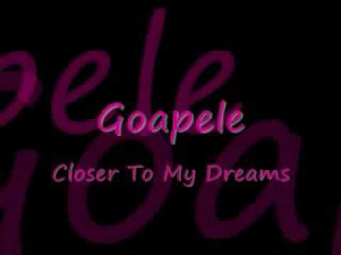 "Goapele ""closer to my dreams"""