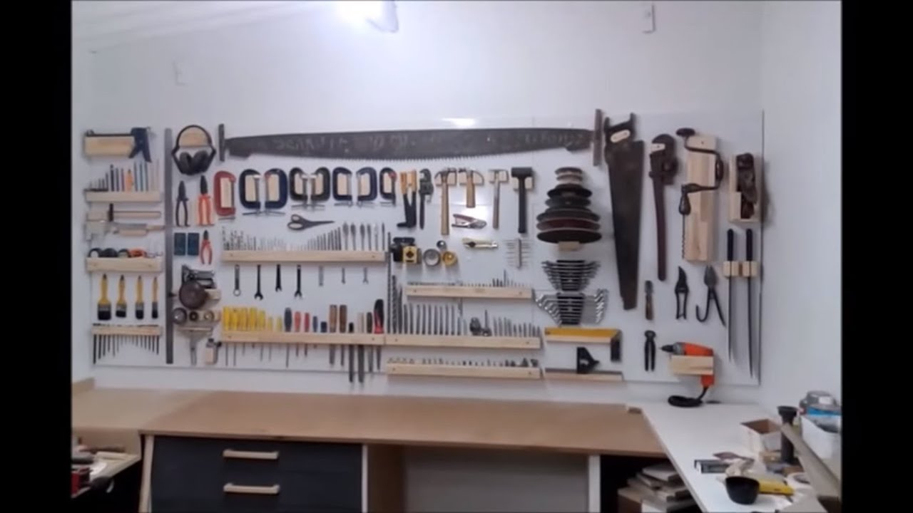 Montagem da Marcenaria #11 Painel de Ferramentas = Tools Panel  #846747 1366x768