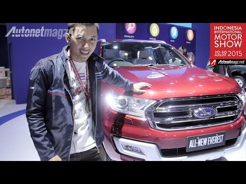 FI Review Ford Everest baru Diesel from IIMS 2015 Indonesia
