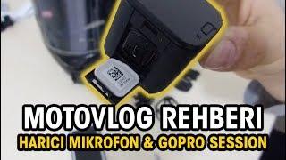 Mikrofonsuz Kamerayla Motovlog Çekmek |Ekipmanlarım