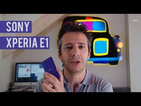 Sony Xperia E1 la recensione di HDblog