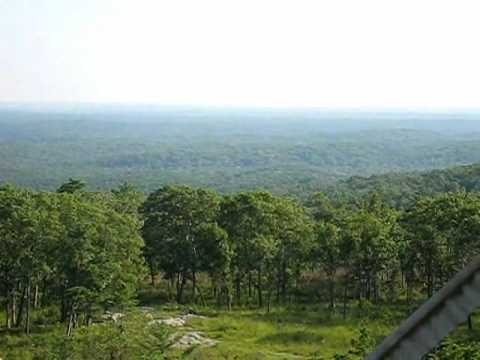 Peck Ranch Stegal mntn fire tower view wmv