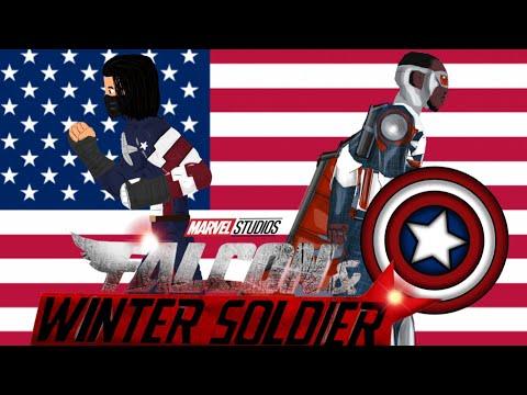 Сокол и зимний солдат — русский трейлер (2020). Falcon And Winter Soldier. Trailer. Анимация