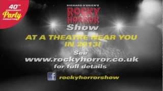 ROCKY HORROR UK - BACK ON TOUR 2013