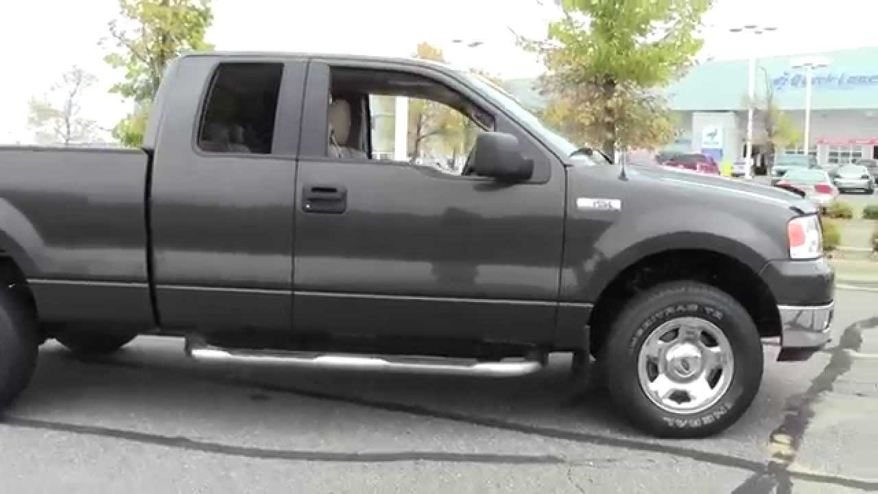 2005 ford f 150 super cab xlt 4wd 1f140618b youtube. Black Bedroom Furniture Sets. Home Design Ideas
