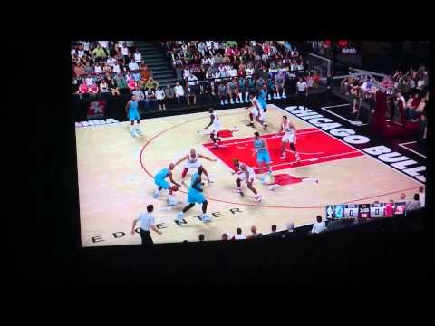 NBA 2K15 - Charlotte Hornets VS Chicago Bulls - 1997-98 NBA Season
