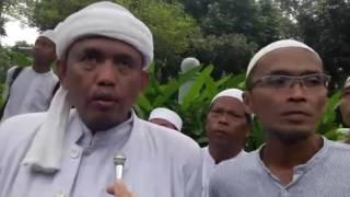 """Wawancara Dengan Sekjen FPI Awit Masyhuri Seputar Aksi Demo Menentang Basuki """"Ahok"""" Tjahaja Purnama."""