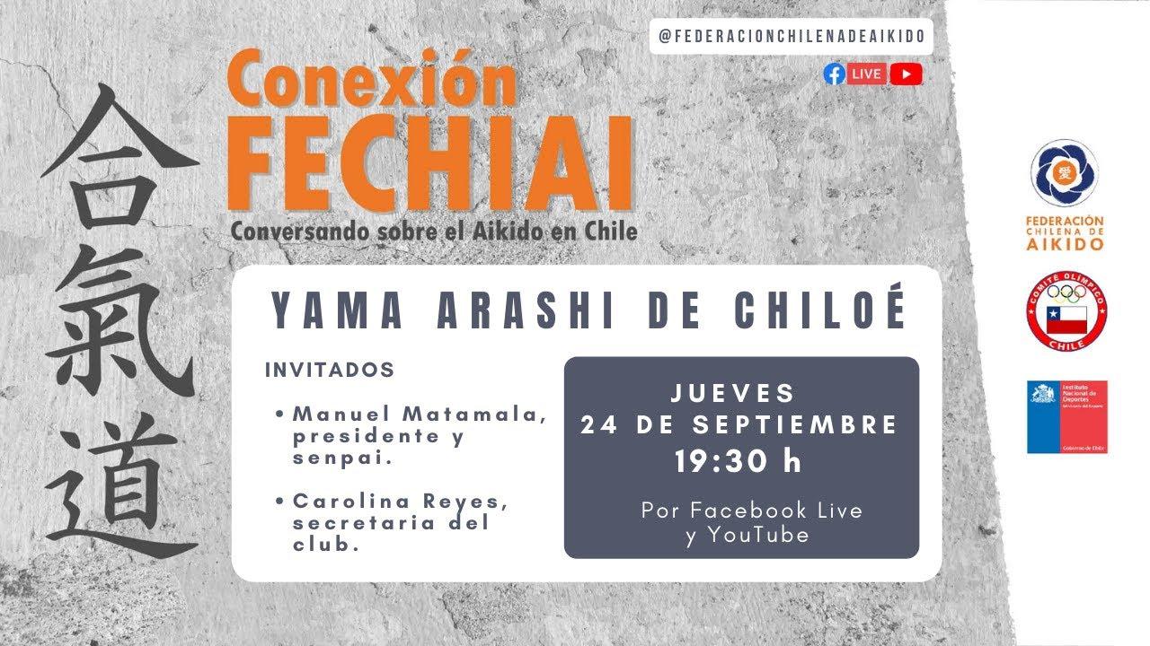 Conexión Fechiai, conversando sobre el Aikido en Chile / Yama Arashi