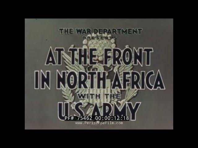 U.S. ARMY OPERATION TORCH
