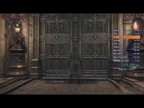 Bloodborne All Bosses Speedrun in 1:12:17 IGT (Former World Record)
