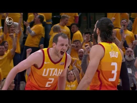 Ricky Rubio Drills a Deep Buzzer-Beater | Thunder vs Jazz - Game 3 | 2018 NBA Playoffs