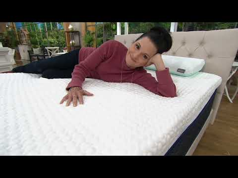 "tempur-pedic-3""-adaptive-comfort-memory-foam-topper-on-qvc"