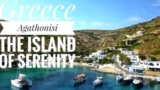 Αγαθονησι το καλοκαίρι με drone - Greece  agathonisi the island of Serenity
