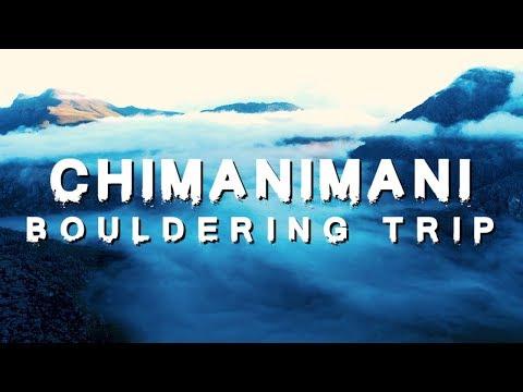 CHIMANIMANI BOULDERING TRIP - APRIL 2018