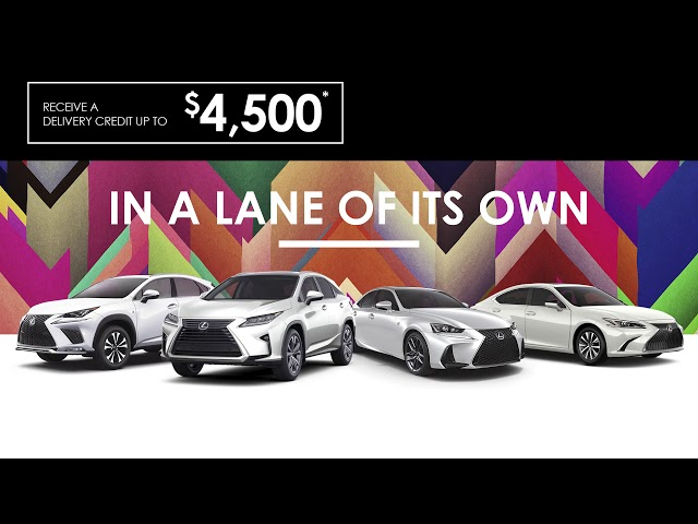 Creative Display - Lexus of Barrie