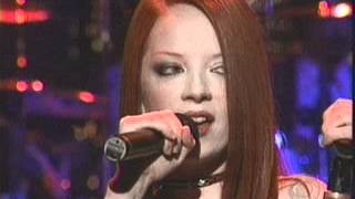 Garbage - The World Is Not Enough - Live on David Letterman