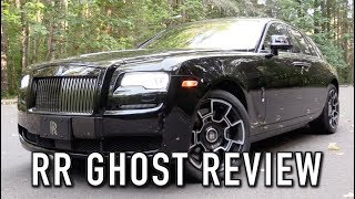 2018 Rolls Royce Ghost Black Badge: Start Up, Test Drive & In Depth Review