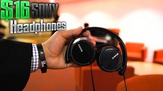 Headphone Review - Sony $16 Headphones