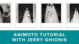 Getting Started In Animoto With Jerry Ghinois