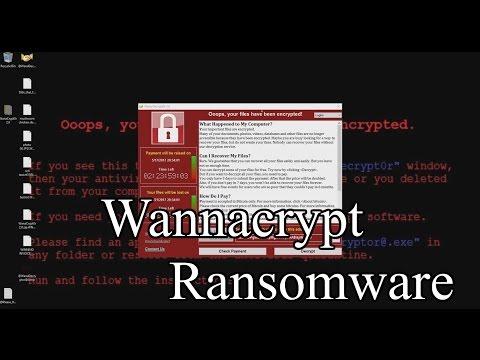 Trojan.Ransom.WannaCrypt (WanaCrypt0r 2.0/WannaCry, NHS Ransomware)