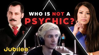 Xqc Reacts To Can 6 Psychics Predict The Fake Psychic - Jubilee