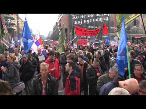 Anti-Vucic Rallies Continue Across Serbia