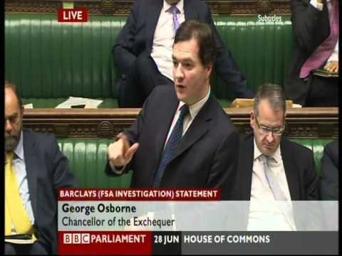 House of Commons Deputy Speaker - are you questioning me?