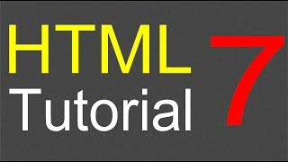 HTML Tutorial for Beginners - 07 - Adding a image to a web page
