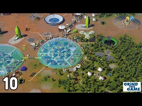 Surviving Mars : GREEN PLANET #10 - Space Elevator And Mohole Mine [4k]