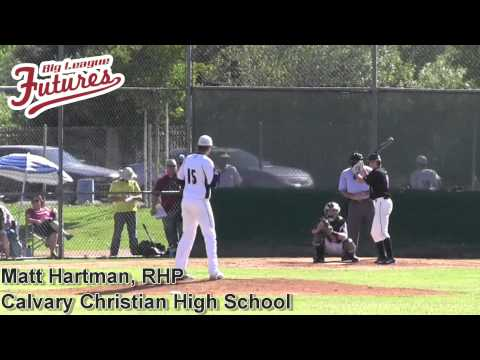 Matt Hartman Prospect Video, RHP, Calvary Christian High School CF