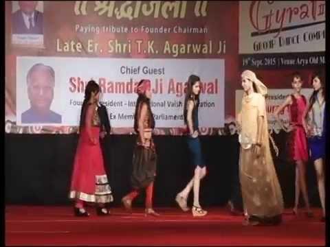 Fashion Show Theme Fusion Indian Western Indo Western Youtube