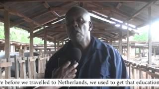 Kenya, Mukurweini Wakulima Dairy Ltd in Nyeri County