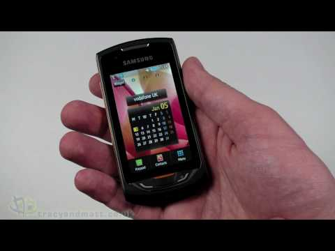 Samsung Monte unboxing video