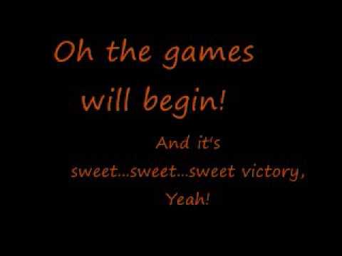 Spongebob Squarepants- Sweet Victory (Lyrics)