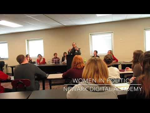 Women in Politics at Newark Digital Academy