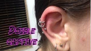 Double Captive - Piercing Orelha