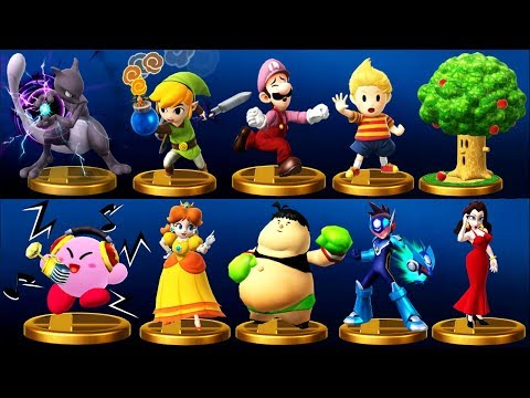 Super Smash Bros. (Wii U) - All 743 Trophies (DLC Included)
