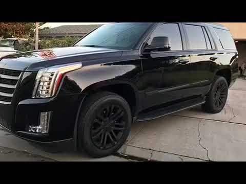 Cadillac Escalade Chrome Black Out