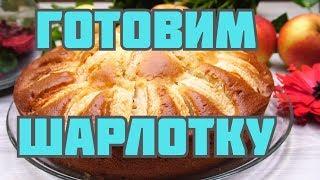 Очень пышная шарлотка пирог с яблоками в духовке. Рецепт шарлотки с яблоками пошагово