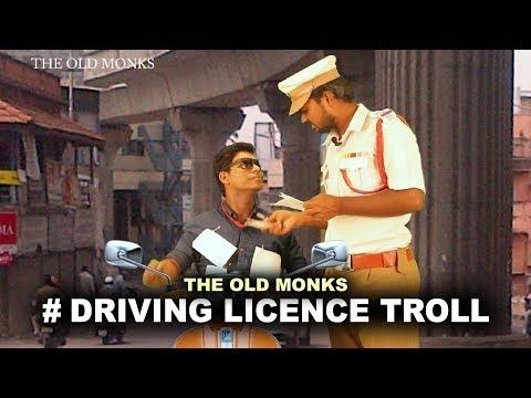 Driving Licence Troll   Nanjil Vijayan and Rajan comedy video - The Old Monks